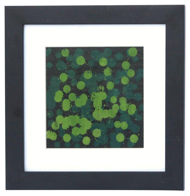 Green  Dot Abstract