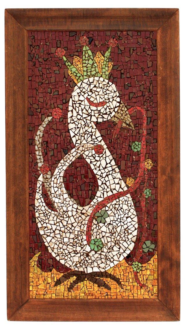 Midcentury Tile Mosaic