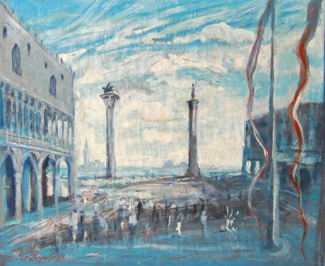 Piazzetta in Venice by Lloyd Lozes Goff