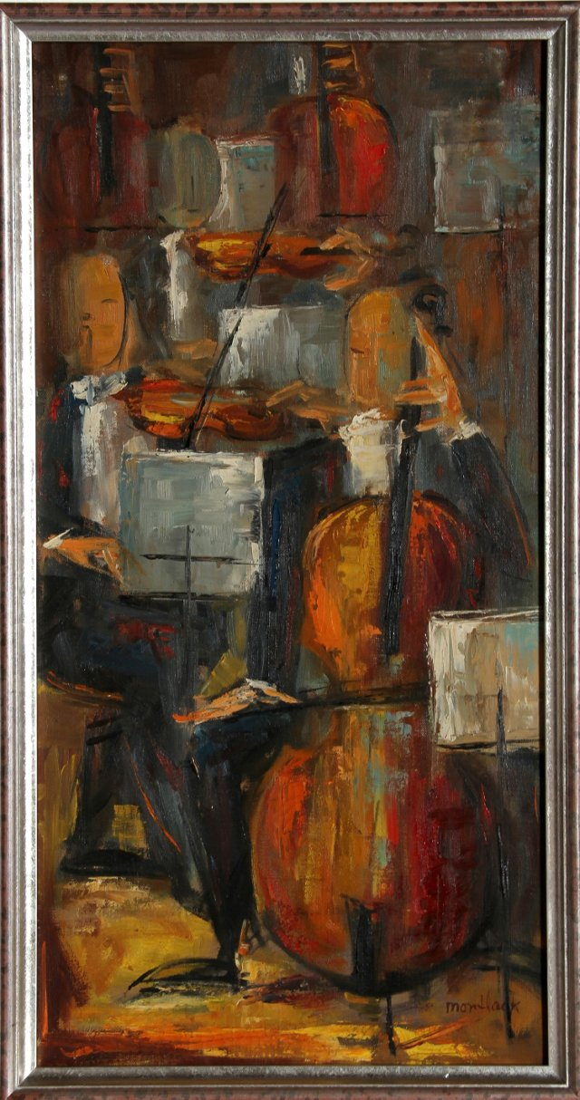 String Section by Edith Montlack