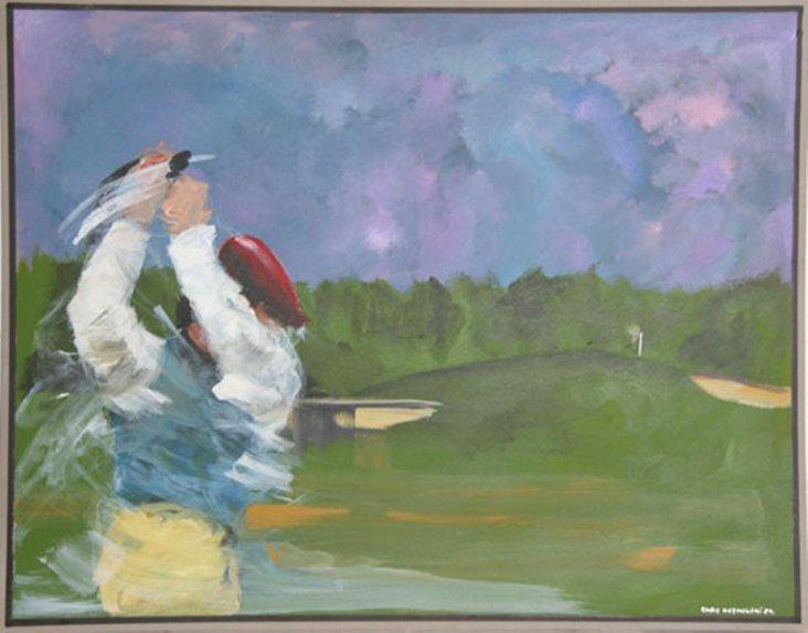 Golfer by Chris Kosmouski
