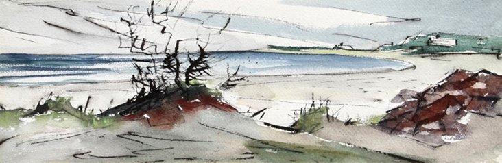 Ogunquit Beach by Eve Nethercott