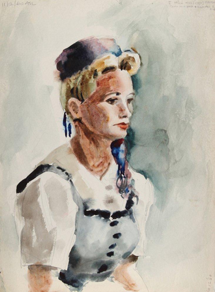 Portrait of a Woman by Eve Nethercott