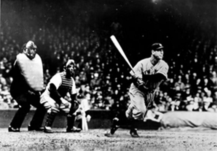 Lou Gehrig at Bat