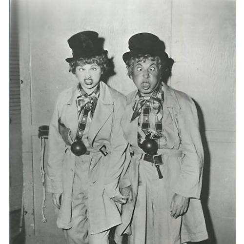 Lucille Ball & Harpo Marx