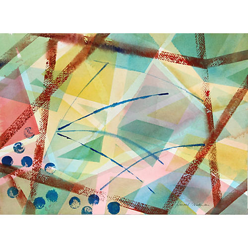 Geometric Abstract by H. Wallerstein