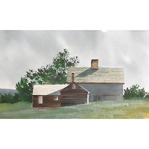 Barn in Summer by Feriola