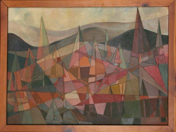 Geometric Forest by Leonard