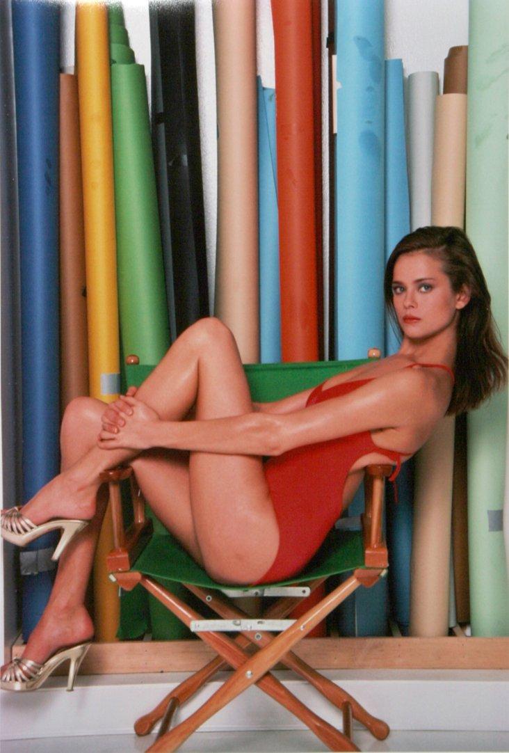 Model in Swimsuit Photo Shoot