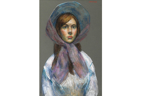 Girl with Bonnet
