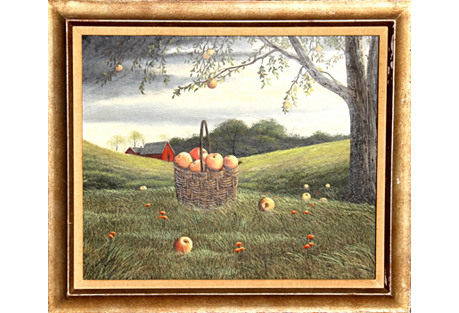 Basket of Apples by T. Kerry