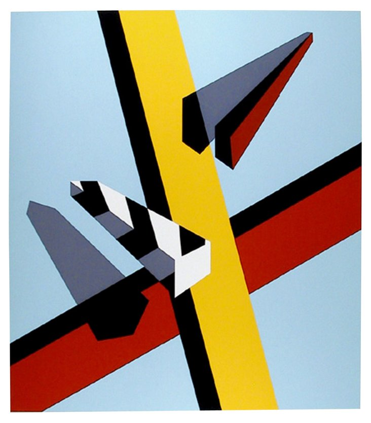 Reflection by Allan D'Arcangelo