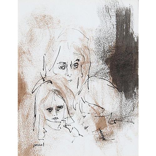 Mother & Her Children