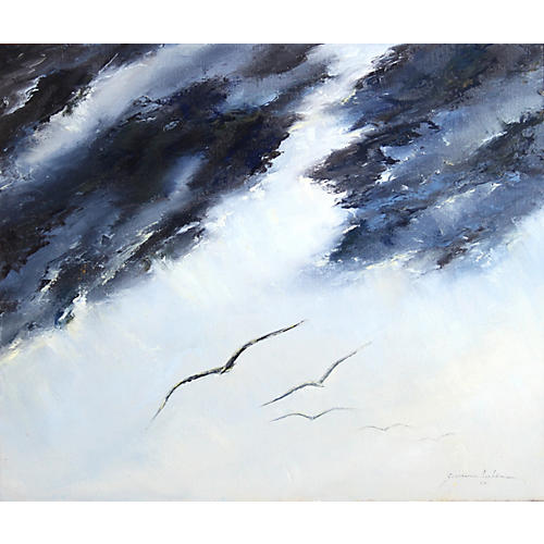 Birds in Flight by Georgina Lachoo