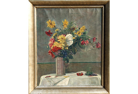 Blumenstrauss in Vase by Probst