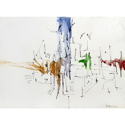 Minimalist Abstract by Dimitri Petrov