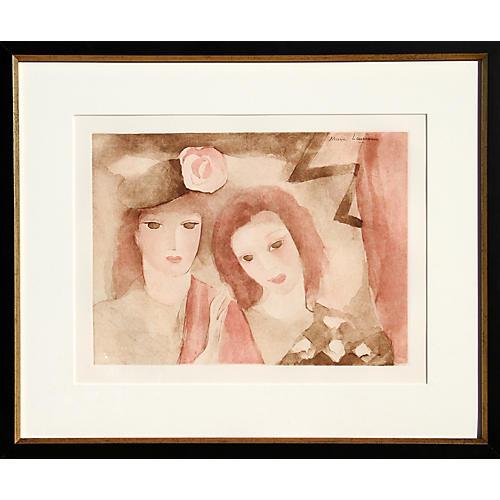 Two Women by Laurencin