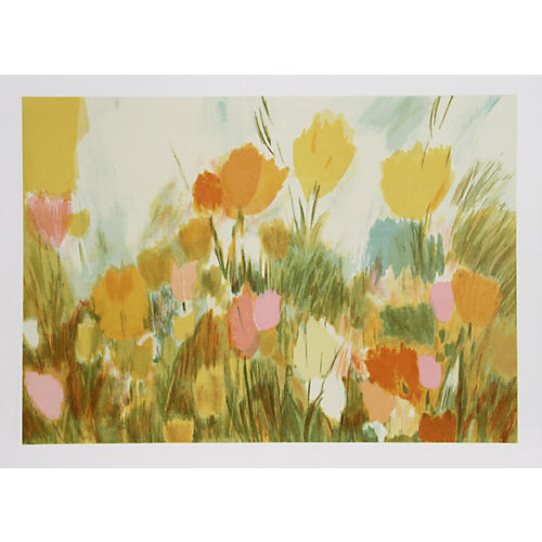 Day Flowers by Joan Paley