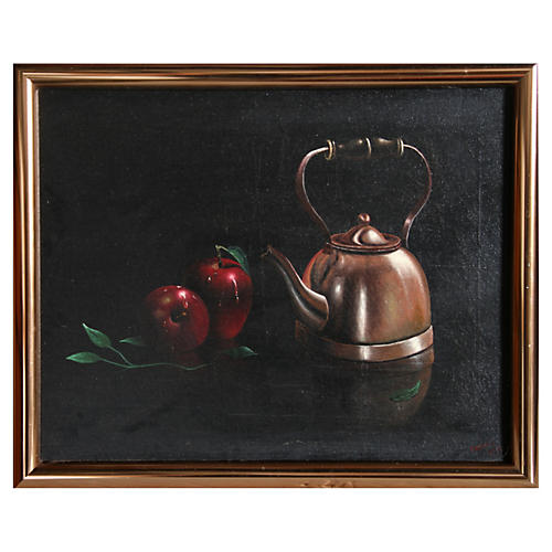 Apples & Kettle by Thomas Kerry