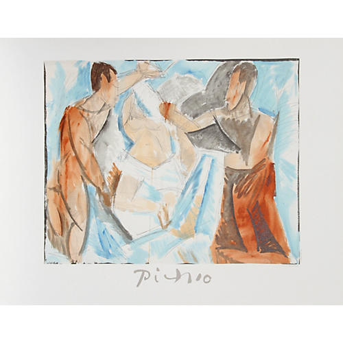 Etude de Personnages by Picasso