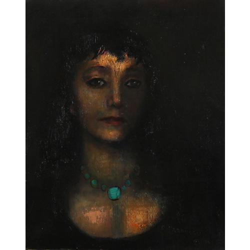 Dark Portrait by Remo Farruggio