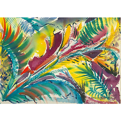 Tropical Plants by Harold Wallerstein