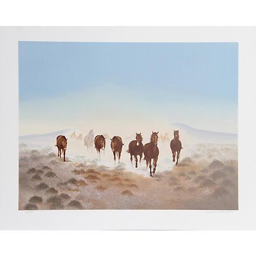 Dust in the Desert by G. Branstetter