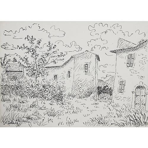 Village by Laurent Marcel Salinas