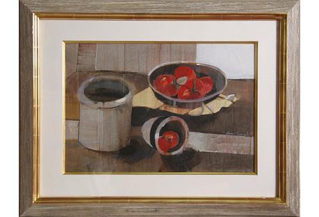 Tomato Still Life by Lynne Emerich
