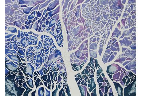 Trees of Washington Square by R Karwoski