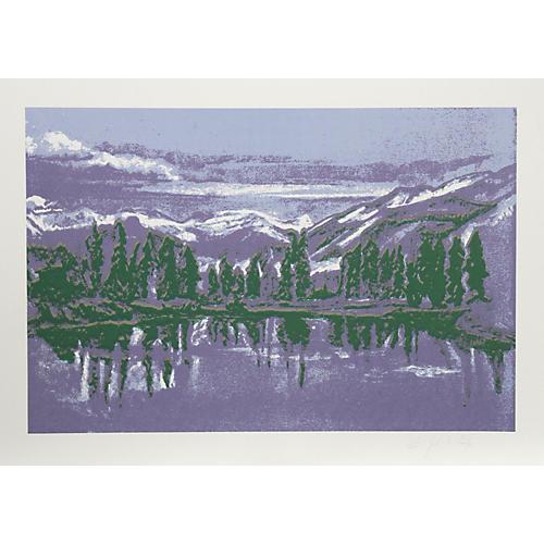 Mountain Lake by John Healy