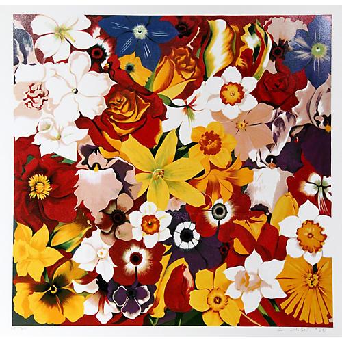 Flower Fiesta by Lowell Blair Nesbitt