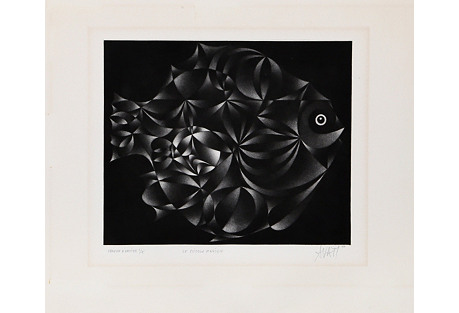 Le Poisson Magique by Mario Avati