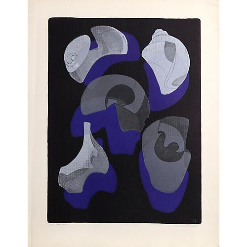 Blue Echoes by Benita Sanders