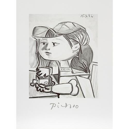 Buste de Petite Fille by Pablo Picasso