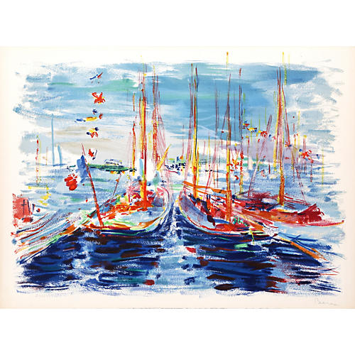 French Boats by Dimitrie Berea