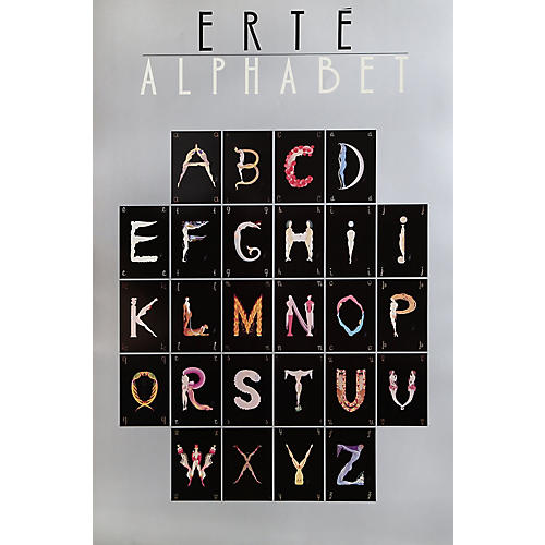 Alphabet Suite by Erte, 1977