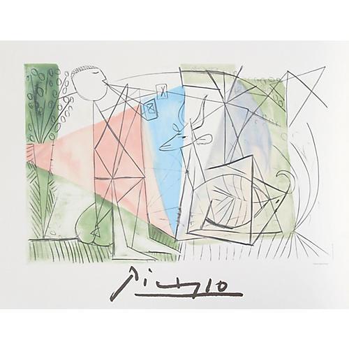 Joueur et Gazelle / Picasso Estate