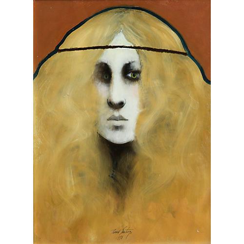 Portrait of a Girl by Ramon Santiago