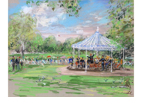 Band in the Park, London by Kamil Kubik