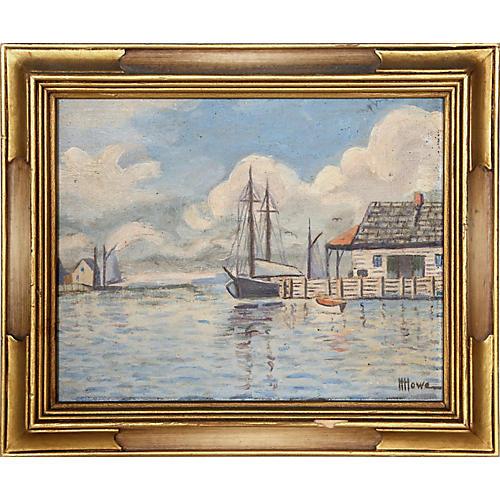 Wharf - Massachusetts by Harry H. Howe