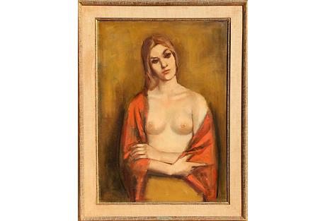 Portrait of a Blonde by Jan De Ruth