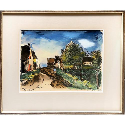 Paysage by Maurice Vlaminck