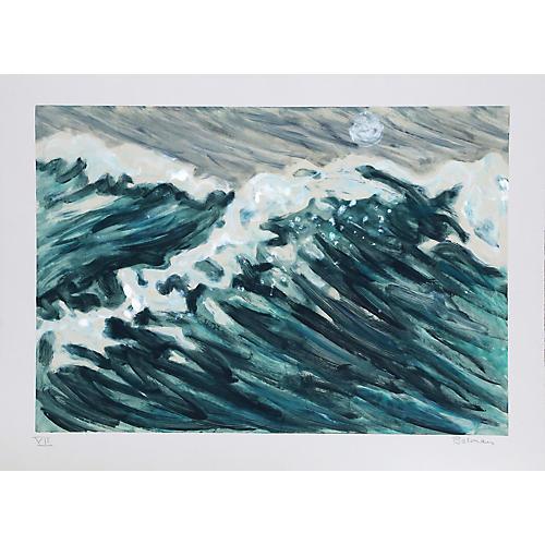 VII (Waves) by Richard Bosman