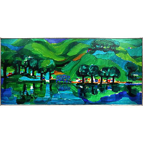 Green Farms by Ronald Julius Christensen