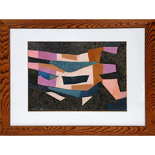 Geometric Abstract by Richard Crist