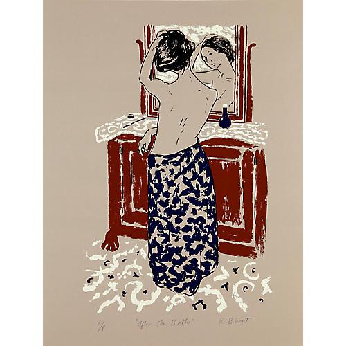 After the Bath by Richard Bienert