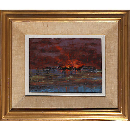 Fire - Low Tide by Richard Florsheim
