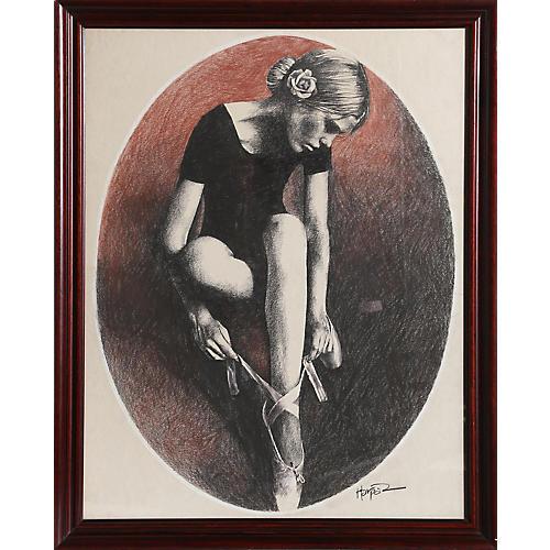 Ballet Dancer by Ari Harpaz