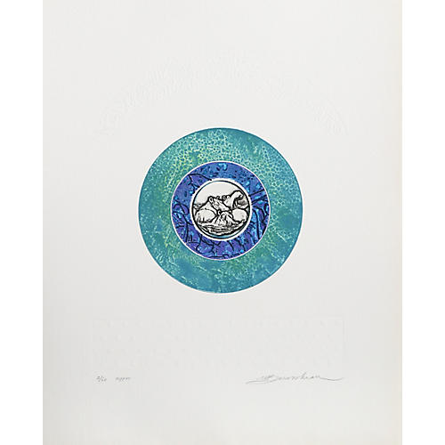Hippos by Martin Barooshian